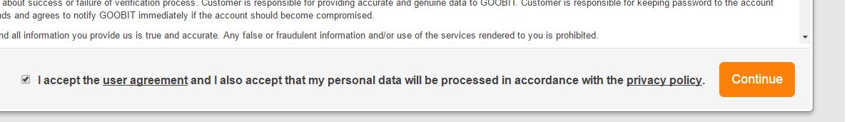 bt.cx skapa konto - acceptera användarvillkor