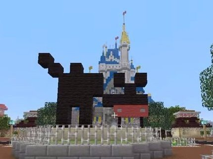 minecraft-2 magic kingdom