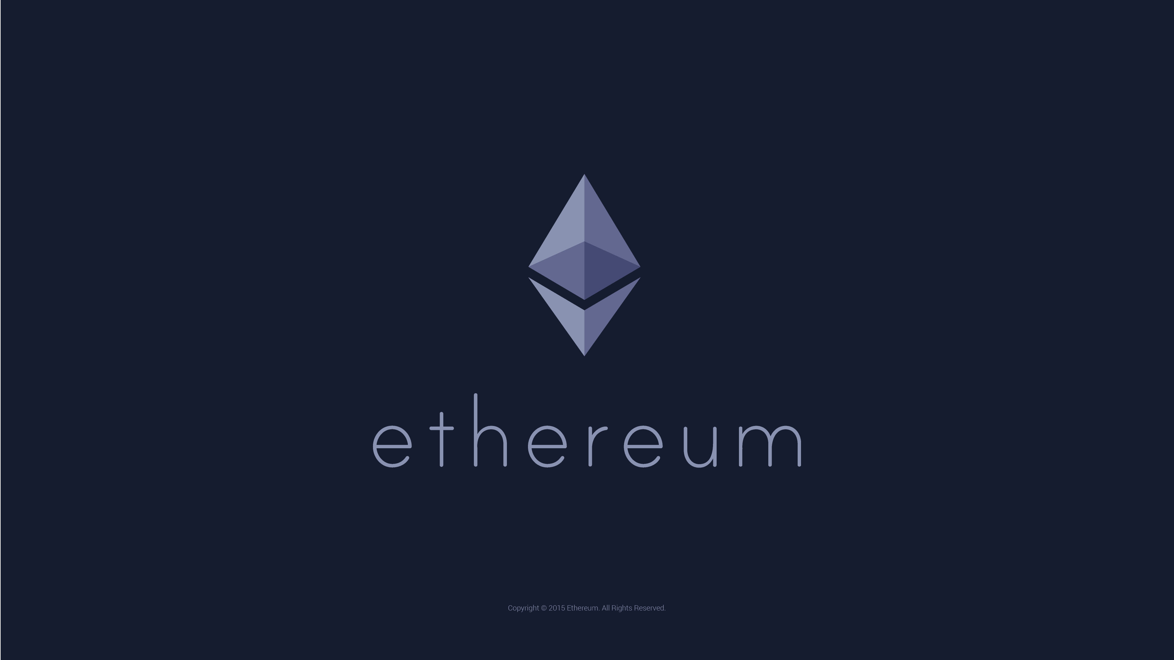 Ether has arrived!