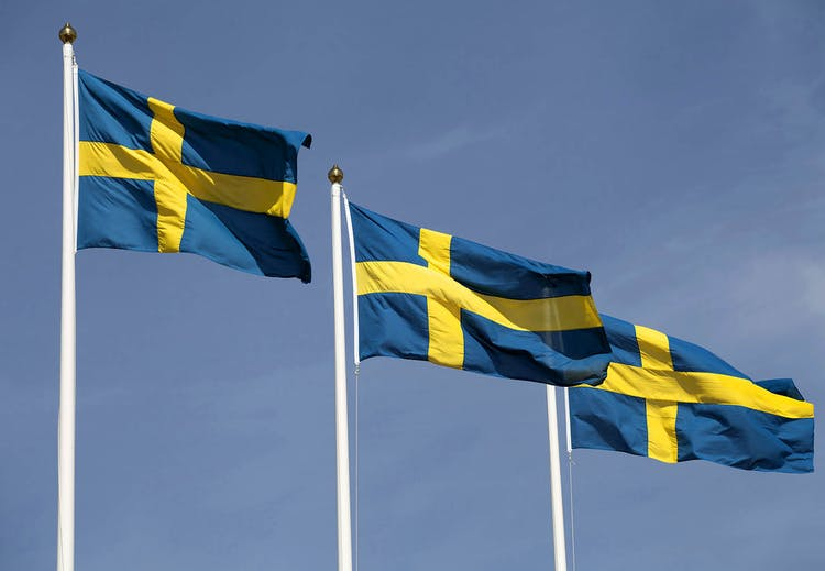 "Hurray for Sweden! We celebrate with +1% in ""fee"" on sale."